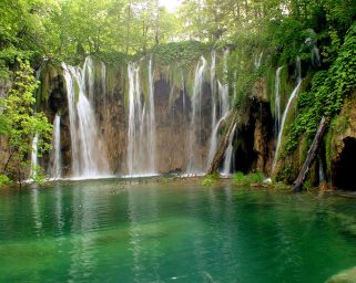 A Spring Waterfall