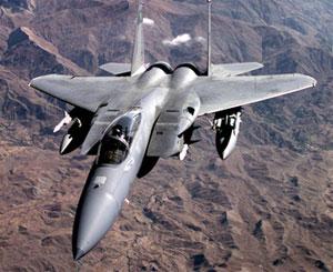 U.S. plane over Iraq
