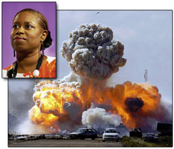 Former U.S. congresswoman Ccynthia Mckinney offered horrifying eye witness account