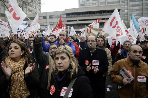 Spain has the highest unemployment rate in Europe Photo:REUTERS/Susana Vera(SPAIN)