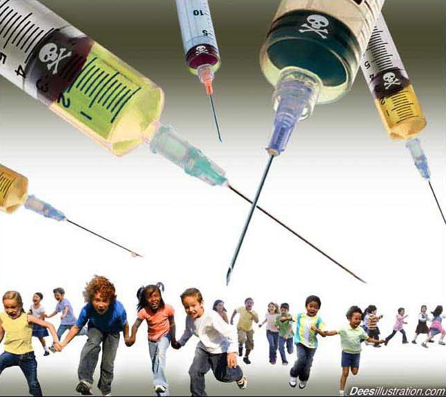 http://hwaairfan.files.wordpress.com/2012/03/kids-flee-deadly-vaccine-by-david-dees.jpg
