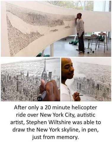 Autistic Artist Steve Wiltshire