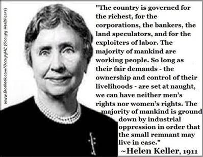 helen keller and who really governs
