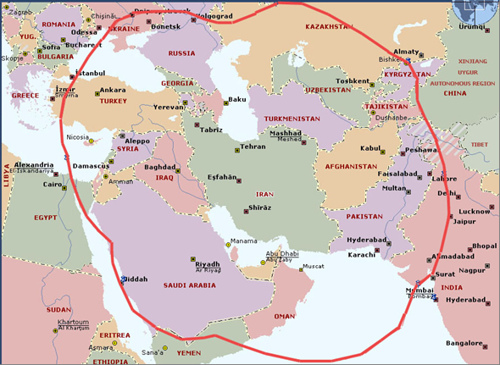 Now We Know Why ISISL Is Destroying Iraq And Not Defending - What continent is israel in