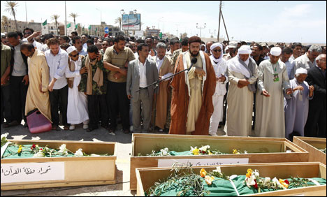 11 Imams Buried in Libya after Nato Raid